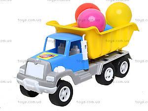 Игрушка-машина «Самосвал», с 6 шариками, 05-520-4, цена