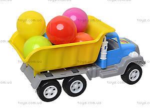 Игрушка-машина «Самосвал», с 6 шариками, 05-520-4, игрушки