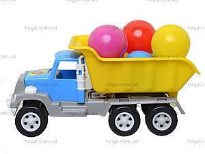 Игрушка-машина «Самосвал», с 6 шариками, 05-520-4, детские игрушки