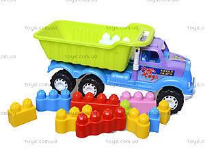 Игрушечная машина «Самосвал с конструктором», 07-713-1, игрушки