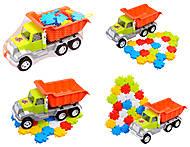 Машина «Самосвал» с мозаикой, 25 деталей, 05-520-6, купить
