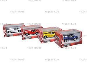 Машина Shelby Cobra , KT5322W, магазин игрушек