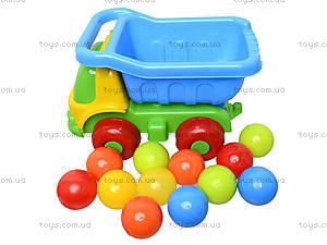 Игрушечная машина «Шмелек Б» с 12 шариками, 07-720-4, фото