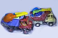 Машина «Сокол» с песочными игрушками, Л-015-4, отзывы