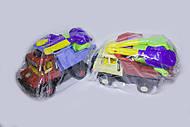 Машина «Сокол» с игрушками в пакете, Л-015-5, фото