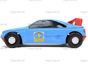 Машинка детская «Спорт», 39014, детские игрушки