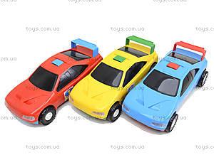 Машинка детская «Спорт», 39014, магазин игрушек