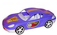 Машина спортивная с наклейками фиолетовая, KW-07-702-1N, купить