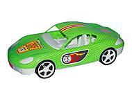 Машина спортивная с наклейками (салатовая), KW-07-702-1N, отзывы