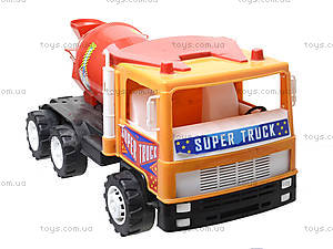 Машина Супер Трак «Бетономешалка», 14-005-1, купить