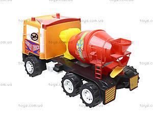 Машина Супер Трак «Бетономешалка», 14-005-1, игрушки