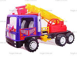 Игрушечная пожарная машина «Супер Трак», 14-004-1, фото