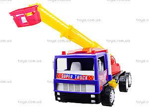 Игрушечная пожарная машина «Супер Трак», 14-004-1, игрушки