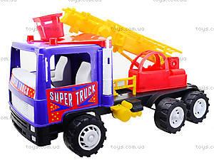 Игрушечная пожарная машина «Супер Трак», 14-004-1, детские игрушки