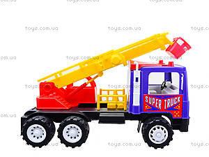 Игрушечная пожарная машина «Супер Трак», 14-004-1, магазин игрушек