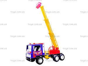 Игрушечная пожарная машина «Супер Трак», 14-004-1, toys.com.ua