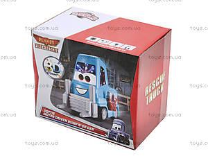 Машинка-погрузчик «Тачки», XZ-128, детские игрушки
