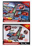 2 машинки Тачки с треком, 6352, фото