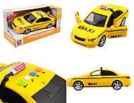 Такси машина с эффектами, WY560C, купить