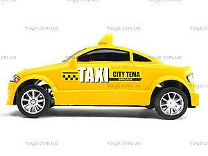 Инерционная машина Taxi Sity Tema, 902, отзывы