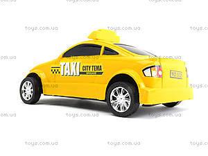 Инерционная машина Taxi Sity Tema, 902, игрушки