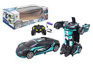 """Машина-трансформер """"Deformation"""" черно-синий Jia xun toys (688), 688, купить"""