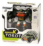 Машина-трансформер «Тобот K мини», 888-1-10, фото