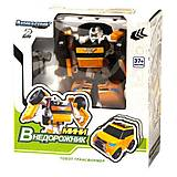 Машина-трансформер «Тобот Х мини» желтый, 888-1-10, фото
