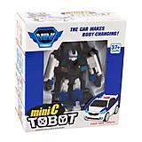 """Машина-трансформер """"Tobot mini C"""", 238C, купить"""