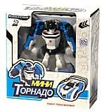 Машина-трансформер «Тобот мини» Торнадо, 888-1-10