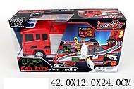 Машина-трек «Пожарная» BKK, 1695688_A8501, цена