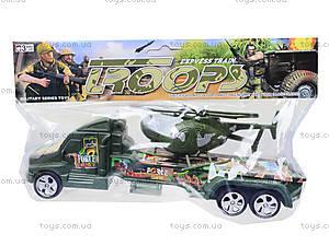 Игрушечная военная машина с вертолетом, 1658A, цена