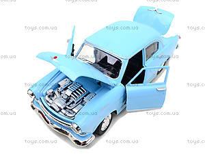 Игрушечная машина Волга «Ретро-автопарк», 9620-A, магазин игрушек