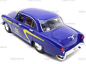 Милицейская машина Волга «Ретро-автопарк», 9620-E, toys.com.ua