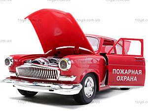 Машинка Волга «Ретро-автопарк» со световыми эффектами, 9620-F, игрушки