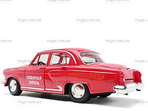Машинка Волга «Ретро-автопарк» со световыми эффектами, 9620-F, детские игрушки