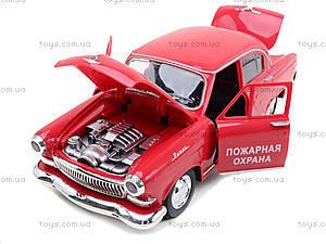 Машинка Волга «Ретро-автопарк» со световыми эффектами, 9620-F, магазин игрушек