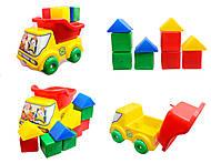Вольво - машина с кубиками, Л-013-3, купить