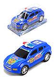 Инерционная модель авто «Полиция», 998F-1112, купить