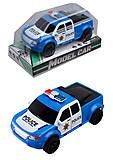 Машинка «Полицейский джип», 333-125, отзывы