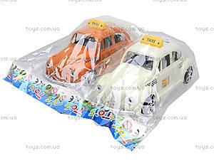 Инерционная машинка «Такси», Q563-A1, фото