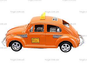 Инерционная машинка «Такси», Q563-A1, игрушки