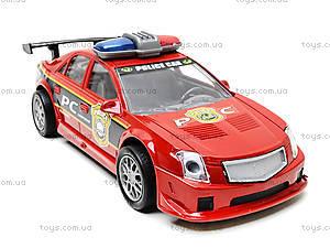 Инерционная полицейская машинка красного цвета, 2261, отзывы