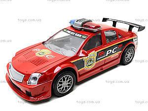 Инерционная полицейская машинка красного цвета, 2261, цена