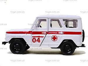 Инерционная машина для детей «Скорая помощь», 6622-1, купить