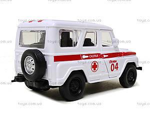 Инерционная машина для детей «Скорая помощь», 6622-1, фото
