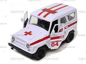Инерционная машина для детей «Скорая помощь», 6622-1, цена