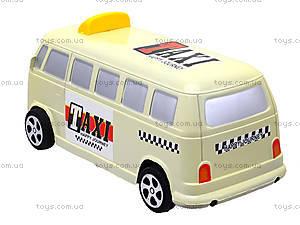 Инерционная машина со световым эффектом «Ретро-такси», Q931-1, купить