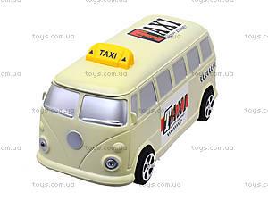 Инерционная машина со световым эффектом «Ретро-такси», Q931-1, фото