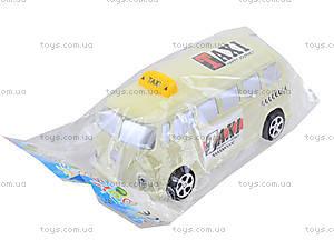 Инерционная машина со световым эффектом «Ретро-такси», Q931-1, цена